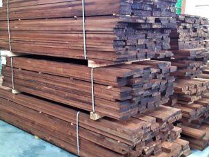 peppelhout planken vuurdoop